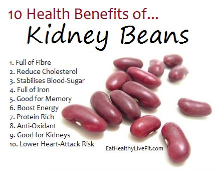 nutrients and benefits of kidney beans - Google Search