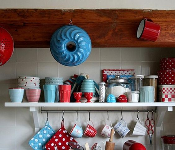 Red White and Blue Dishes...