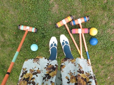 Croquet is always a great way to add some play to your event.