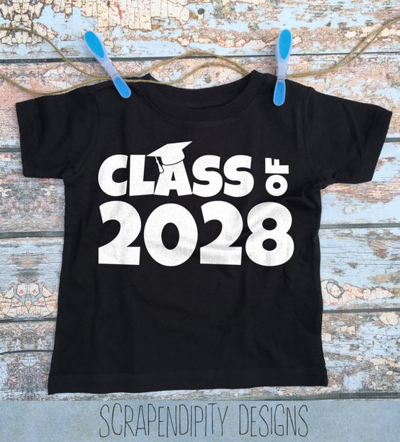 Kindergarten Graduation Shirt - Class of 2029 Tshirt ...