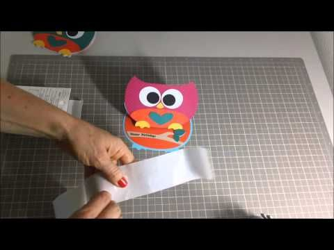 ▶ Owl Easel Cards - YouTube