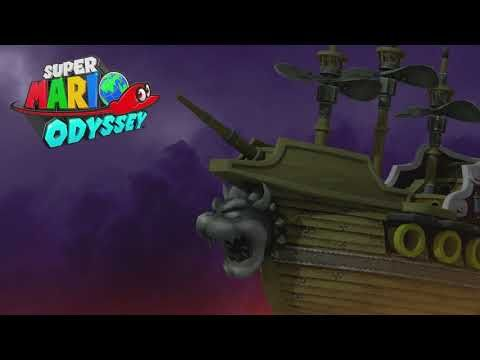 Super Mario Odyssey Music Extended Airship Youtube Super