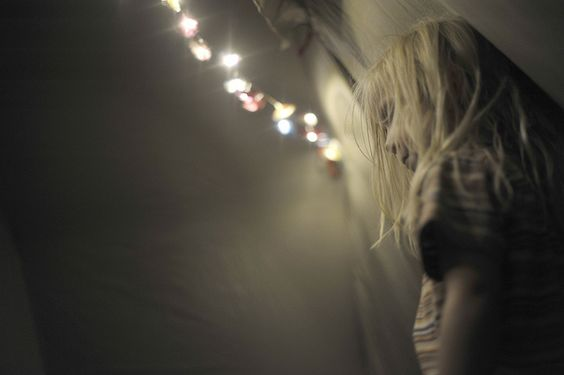 Tent lights.