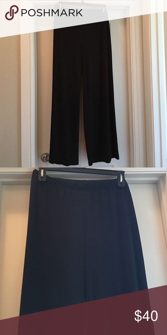 Black traveler pants! The perfect pants! Easy wear and wrinkle free! Size 3 Chicos Chico's Pants Boot Cut & Flare