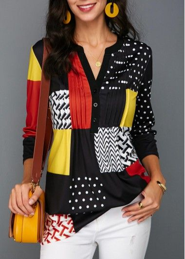 Stunning Colorful Blouses