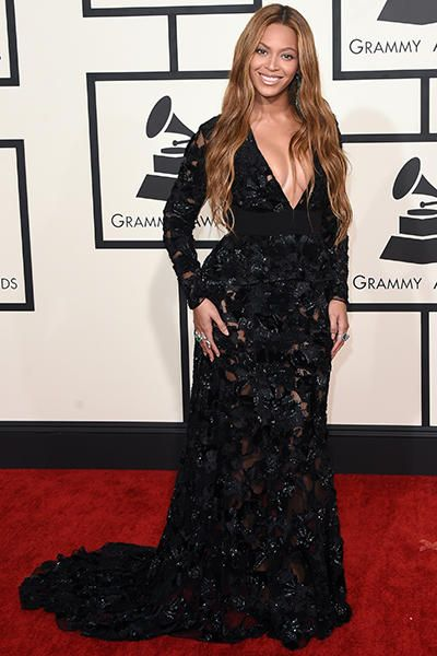 Beyonce attends The 57th Annual Grammy Awards at the STAPLES Center on Feb. 8, 2015 in Los Angeles, California.