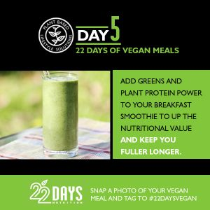 Day 5: 22 Days of #Vegan Meals #22daysnutrition