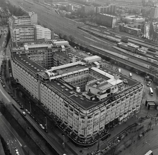 The Groothandelsgebouw (1951-53) in Rotterdam, the Netherlands, by Hugh Maaskant & Willem van Tijen
