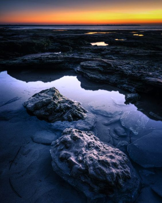 Remnants of a high tide... If anyone wants to shoot something similar  go to point lonsdale at sunrise... Low tide is Gonna be just 30cm!  Always plan your photo expeditions :) #planit #jaw_dropping_shots #ig_australia #wow_Australia #australia #victoria #australia #pointlonsdale #bellarinepeninsula #lowtide #sunrises #rockybeach #hdr #photomatixpro #nikonlandscape #mynikonlife #nikond750 #jaimegomezphotography by jaime_gomez_arevalo http://ift.tt/1JO3Y6G