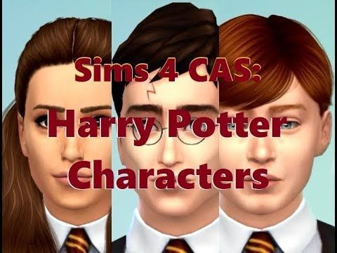 Harry Potter Sims 4 Cas Sims Sims 4 Harry Potter Characters