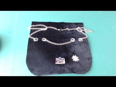 Tutorial: come fare una patella per borse all'uncinetto by