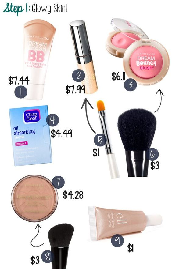 Starter Makeup Set for Teenagers | Makeup choices if you're a teenager or just on a budget. #youresopretty