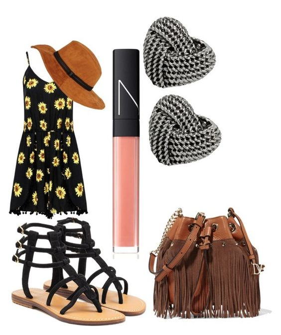 """""""Springs-a-comin"""" by the-wonderful-wizard on Polyvore featuring Mystique, Diane Von Furstenberg, NARS Cosmetics and Betsey Johnson"""
