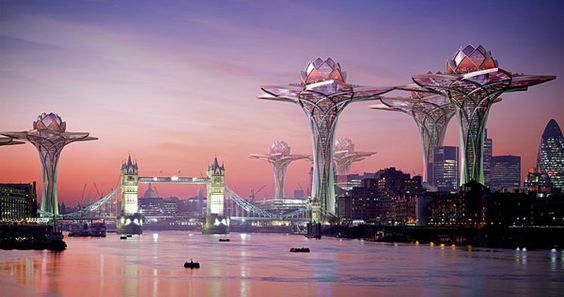 Tranquil Oasis Above the Polluted Urban Life: City in the Sky Concept  [Video]