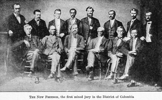 (1922) The new freedom; The first mixed jury in the District of Columbia.