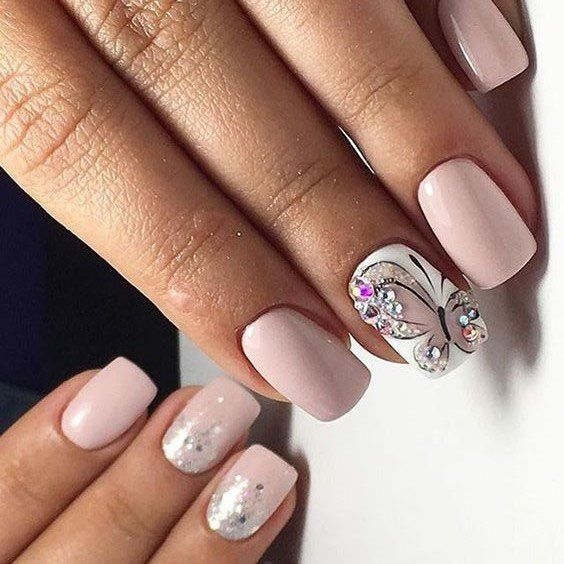 33 Butterfly Nails Art Provide The Nails A Fantastic Appearance