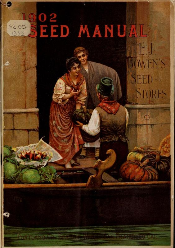 E. j. Bowen's - 1902 seed manual