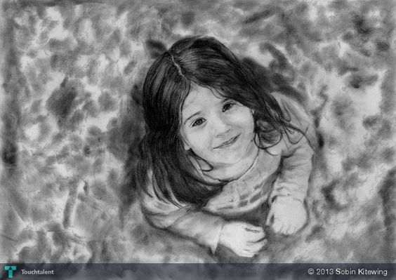 Sketch of a photograph - Sketching by Sobin Kitewing in My Sketches at touchtalent