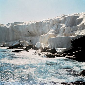 Nice! Christo and Jeanne-Claude did this just a few headlands down from my home in Sydney!