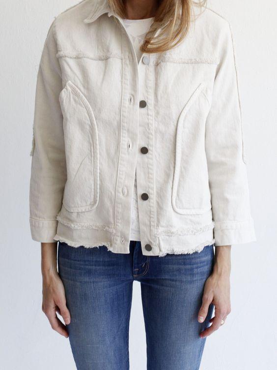 Rachel Comey Dirty White Parade Jacket