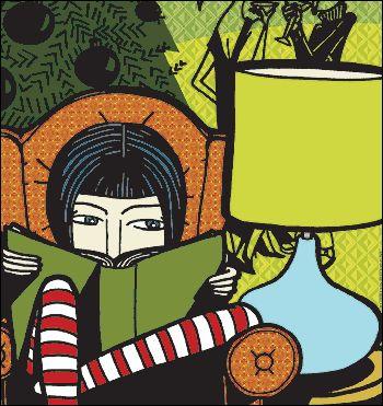 lendo a meia noite