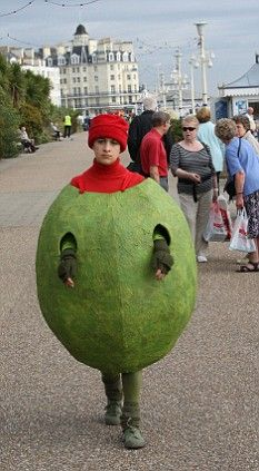 Georgia's stuffed olive costume from 'Angus, Thongs and Perfect Snogging'
