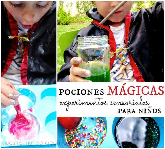 Pociones mágicas