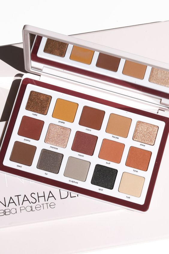 Natasha Denona Biba Eyeshadow Palette Review and Swatches via The Beauty Look Book