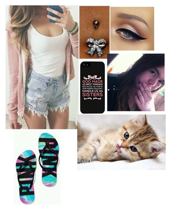 """""""Summer"""" by hannahsocha1331 ❤ liked on Polyvore featuring Victoria's Secret"""