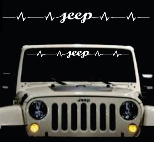 [GJFJ_338]  Awesome Jeep Heartbeat Windshield Banner Decal Sticker Check it out here  https://customstickershop.us/shop/jeep-heartbeat-win… | Jeep, Decals  stickers, Jeep images | 2017 Jeep Cherokee Windshield Banner |  | Pinterest