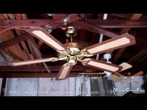 Jcpenney Moss Hf 100 Series Polish Brass Heirloom Ceiling Fan In Hd Youtube Ceiling Fan Ceiling Fan