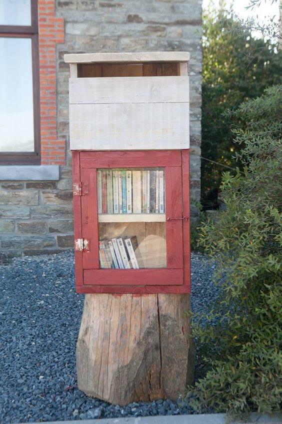 Boite à livres St. Medard