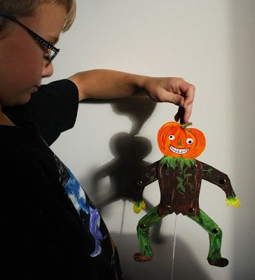 halloween craft ideas with tissue paper