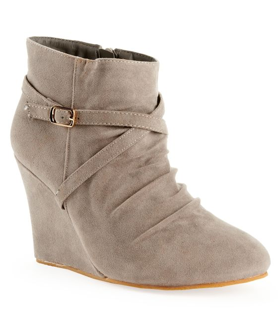 Charles Albert Shoes® Wedge Ankle Boot - Aeropostale | Shoe Love ...