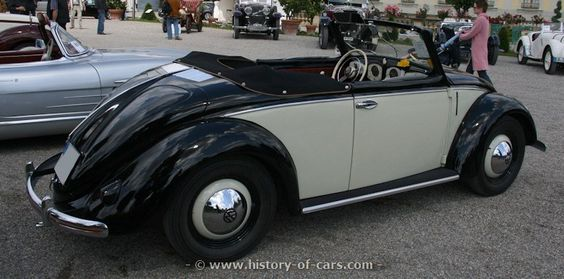 vw 1949 export cabriolet hebmueller - the history of cars - exotic ...