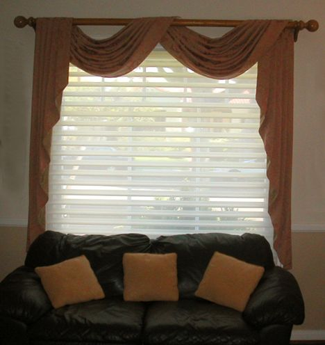 Scarf Valance And Blinds Bedroom Pinterest How To Hang West Los Angeles And Hardware