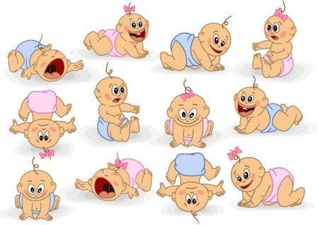 Vectores de bebes