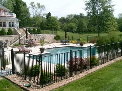 16 Pool Fence Ideas for Your Backyard (AWESOME GALLERY) Ideas, US