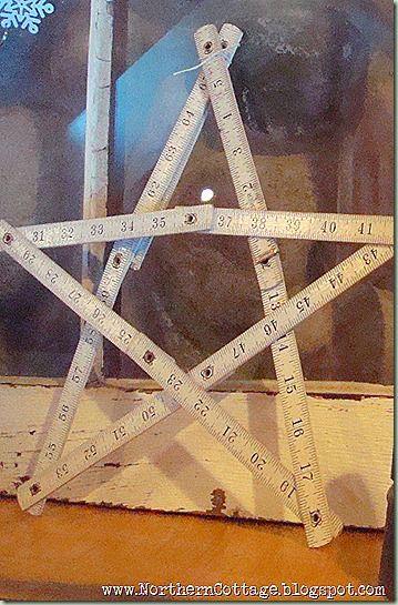 Measuring tape star