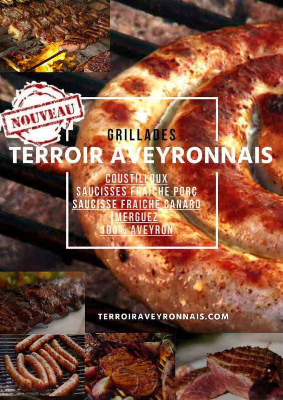 Grillades 100% Aveyron avec terroir aveyronnais ! www.terroiraveyronnais.com