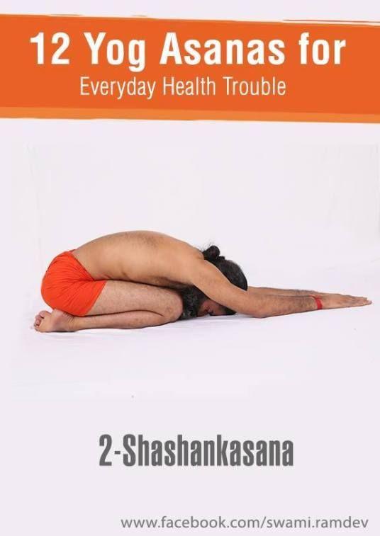 12 Yogasanas That You Should Exercise Daily Easy Yoga Workouts Ramdev Yoga Wellness Yoga