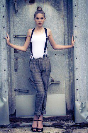 fashion model: