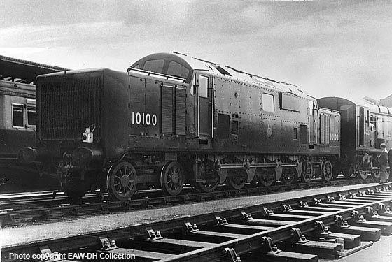 uk railway gas turbine locos - Google Search