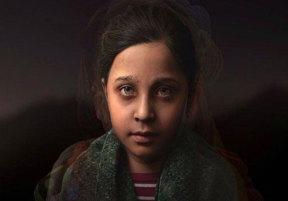 Unicef cria menina virtual com fotos de crianças de áreas de conflito