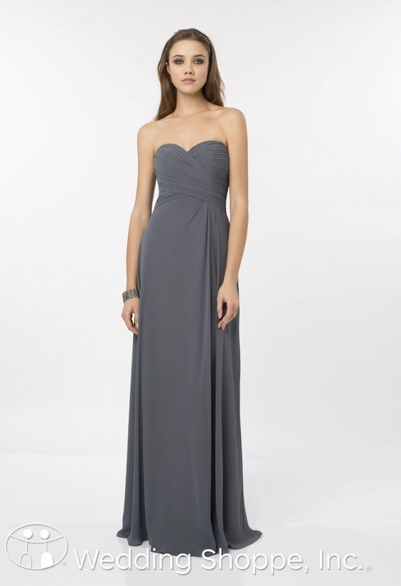 Silver by Bill Levkoff Bridesmaid Dresses