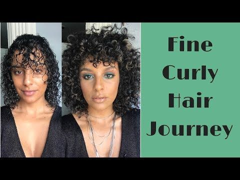 My Big Curly Hair Routine For Fine Curls Youtube With Images