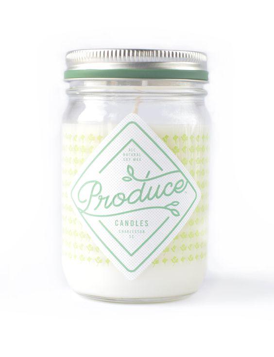 Bougie Coriandre - Produce Candles