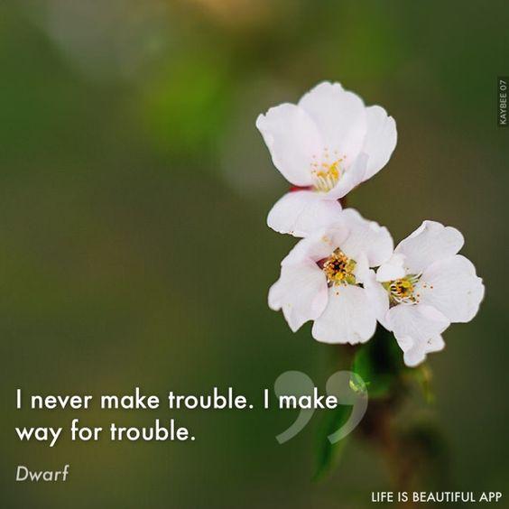 #trouble #ALionAmongMen