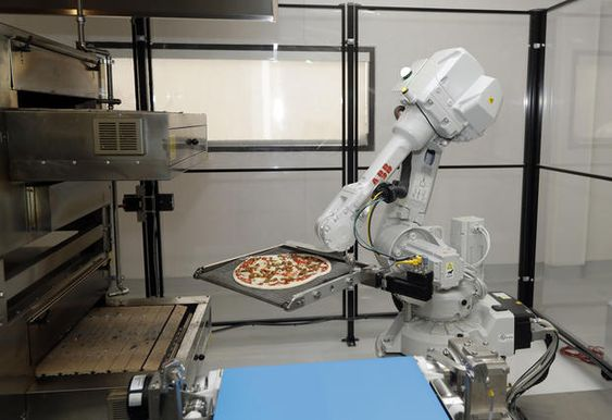 Invasion of the pizza-making robots