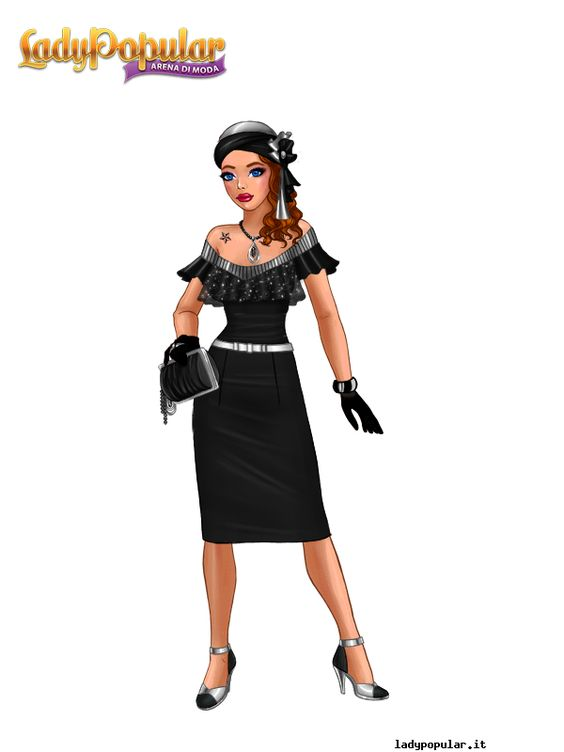 elegant black style